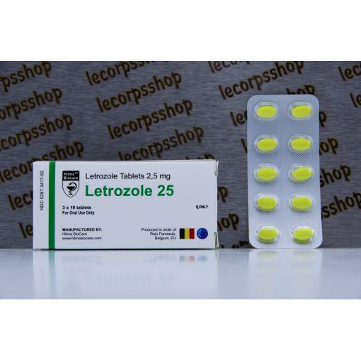 Letrozole ( Femara )Manufacturer: Hilma Biocare Pack 30 tabs/pack (2.5mg/tab)