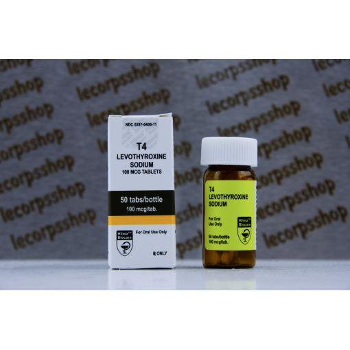 T4 ( Levothyroxine ) Hilma Biocare